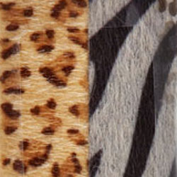 Leopard Furry Emery Boards