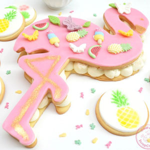 XXL Flamingo Cookie Cutter