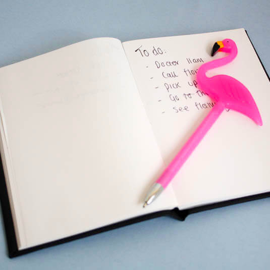 Flamingo Kugelschreiber