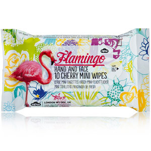 Flamingo Mini Wipes