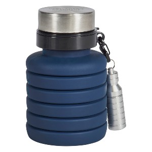 Collapsible Water Bottle and Flashlight