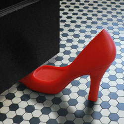 Foot in the Door - Door Stopper Red