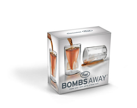 Fred & Friends Bombs Away Shot Glasses