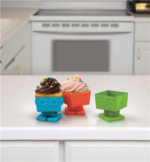 Cupcake Backformen Roboter