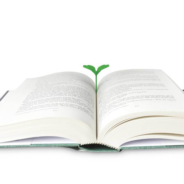 Lesezeichen Kleeblatt