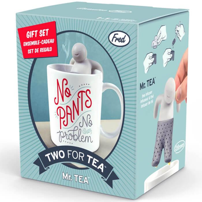 Two for Tea Mug & Tea Infuser Gift Set