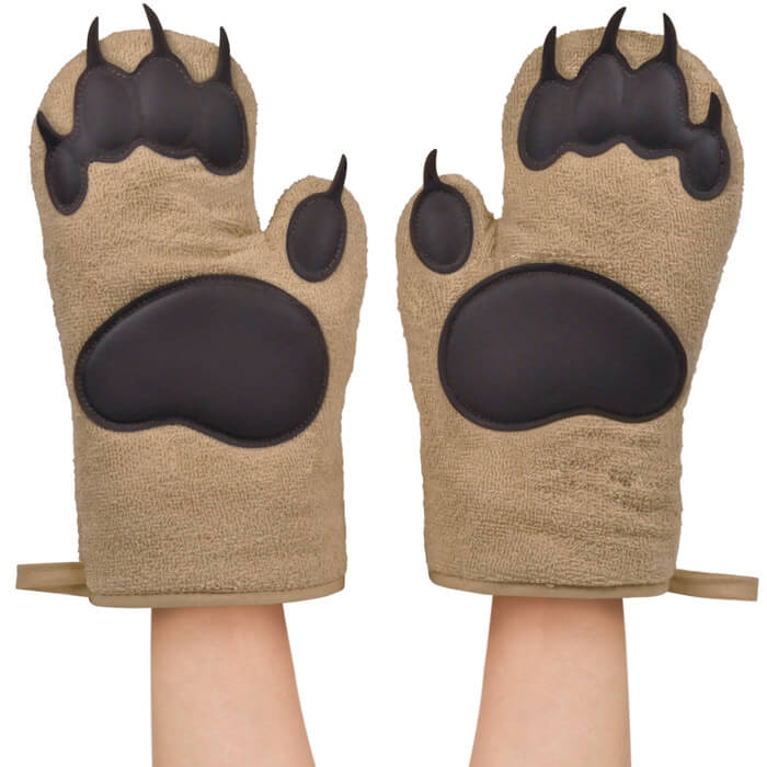 Bear Hands Oven Gloves