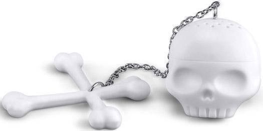 Tea Bones Skull Infuser
