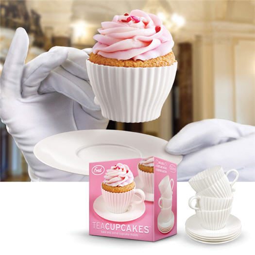 Cupcake Backformen Teetasse