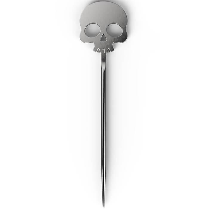 Totenkopf Cocktail-Stäbchen