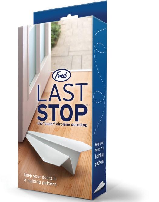 Paper Airplane Doorstop