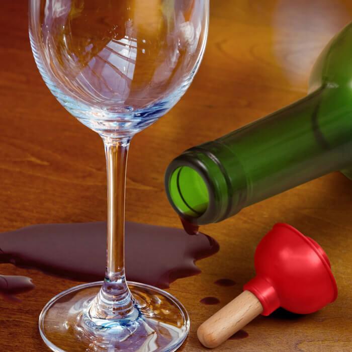 Weinverschluss Saugglocke