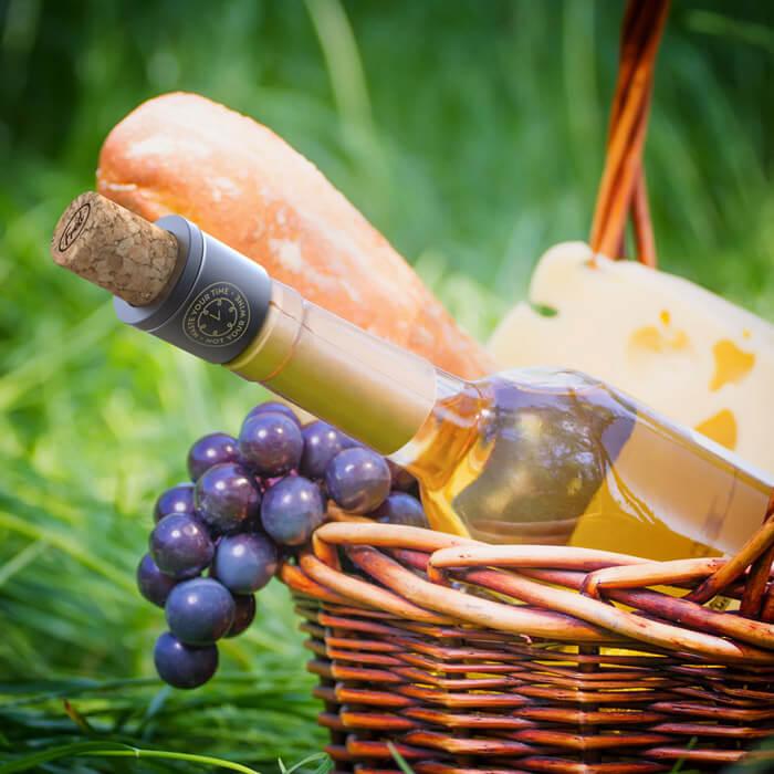 Corky - Weinverschluss mit Vakuumpumpe