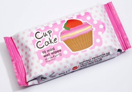 Feuchtigkeitstücher Cupcake
