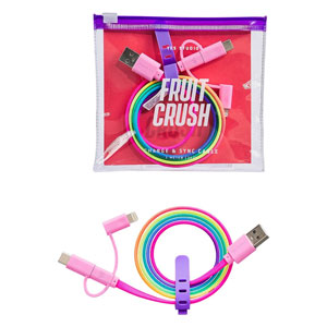 Fruit Crush Charge & Sync Cable