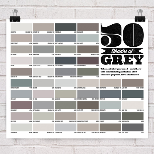 Poster 50 Shades of Grey