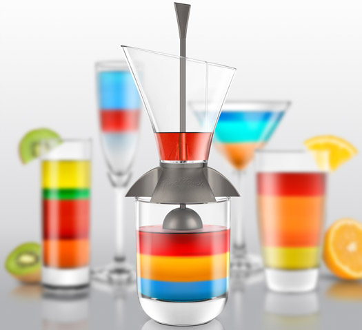 Regenbogen Cocktail Gadget