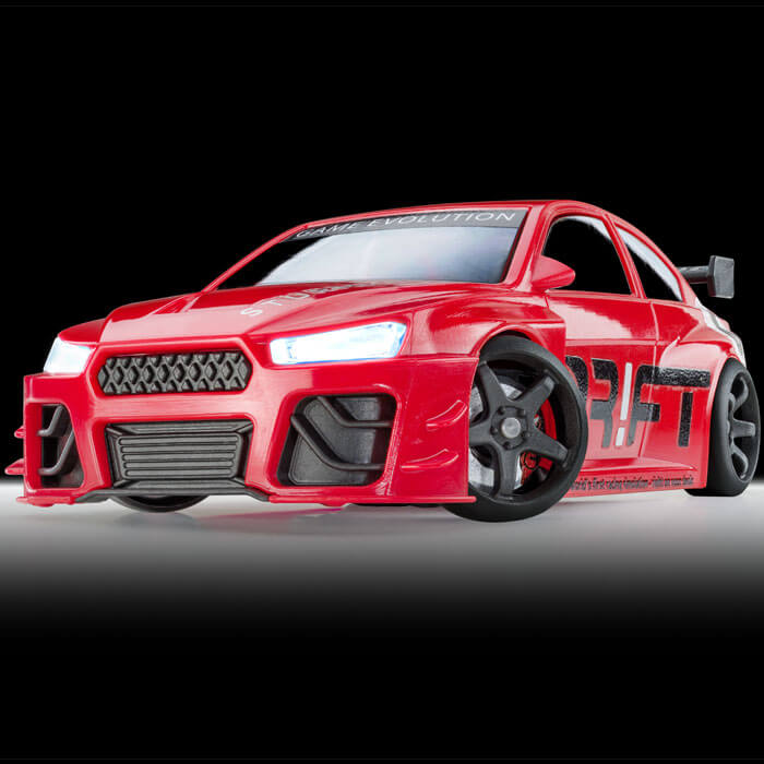 Drift-Racer Turbo Rot