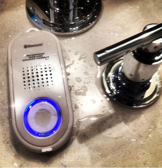 Handset e Cassa Impermerabile Bluetooth 2 in 1