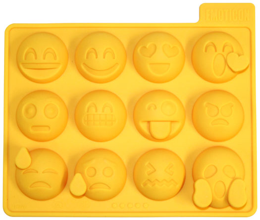 Emoticon Ice Cube Tray