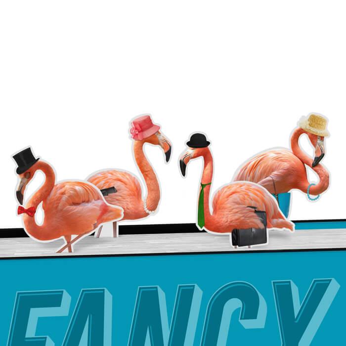 Flamingo Lesezeichen