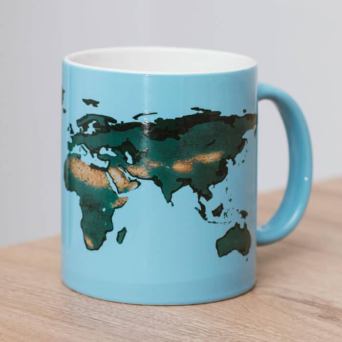 Tasse Erderwärmung