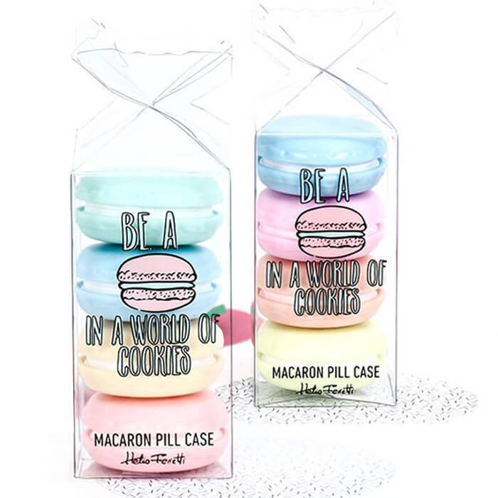 Macaron Pillendosen-Set