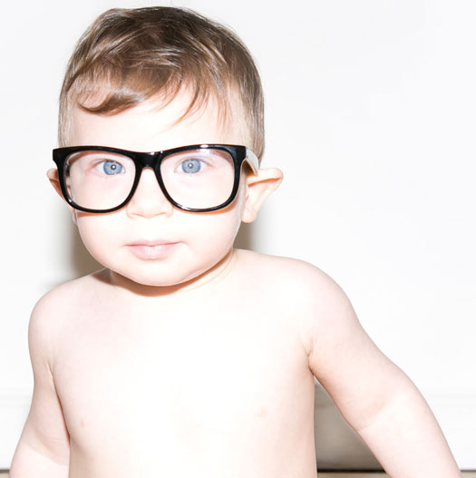 Hipsterbrille für Kinder