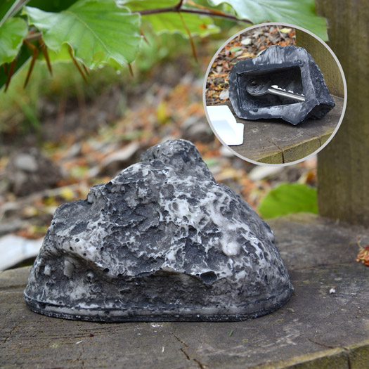 Schlüsselversteck Stein Key Rock