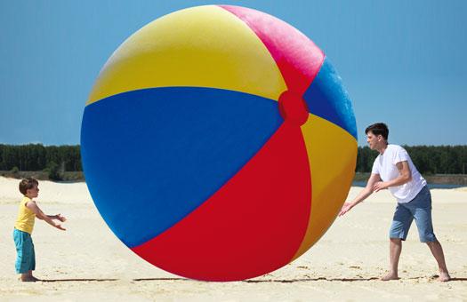 Riesengrosser Strandball 3 m