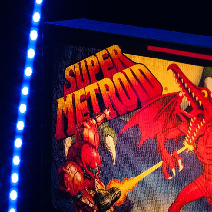 Super Metroid Leuchtbild