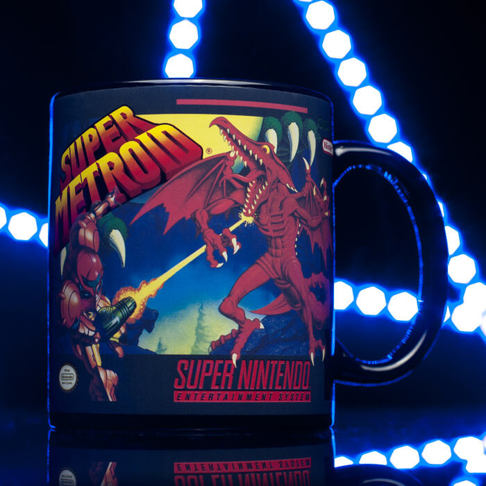 Super Metroid Tasse