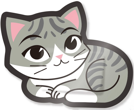 Kitty Adhesive Strips