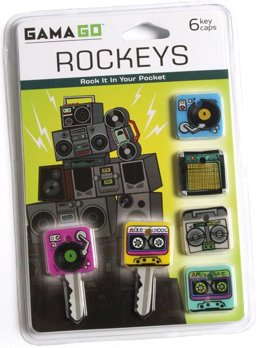 Rockeys Schlüsselkappen