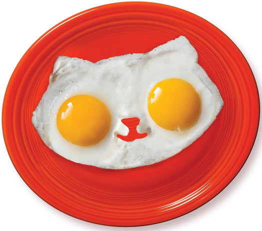 Kitty Breakfast Mold