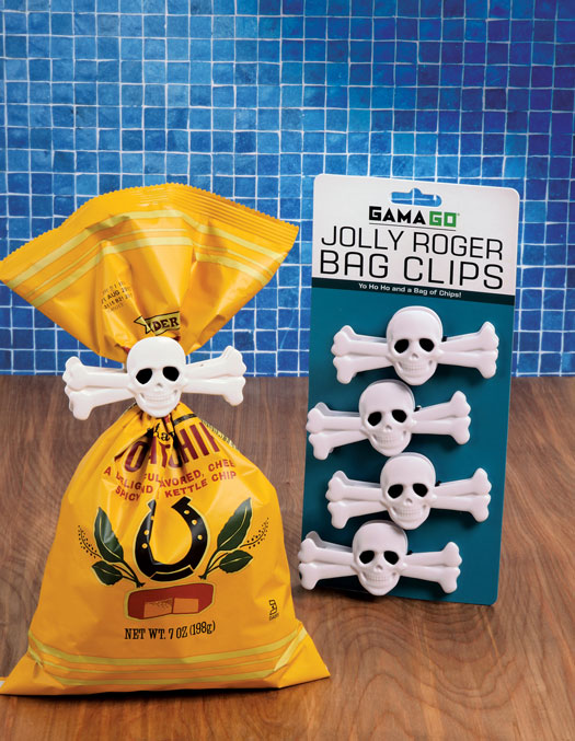 Skull Bag Clips