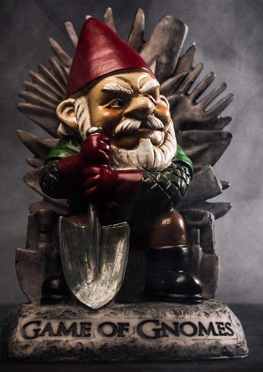 Gartenzwerg Game of Gnomes