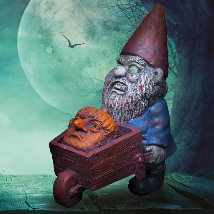 Mini Zombie Gnomes - Set of 3