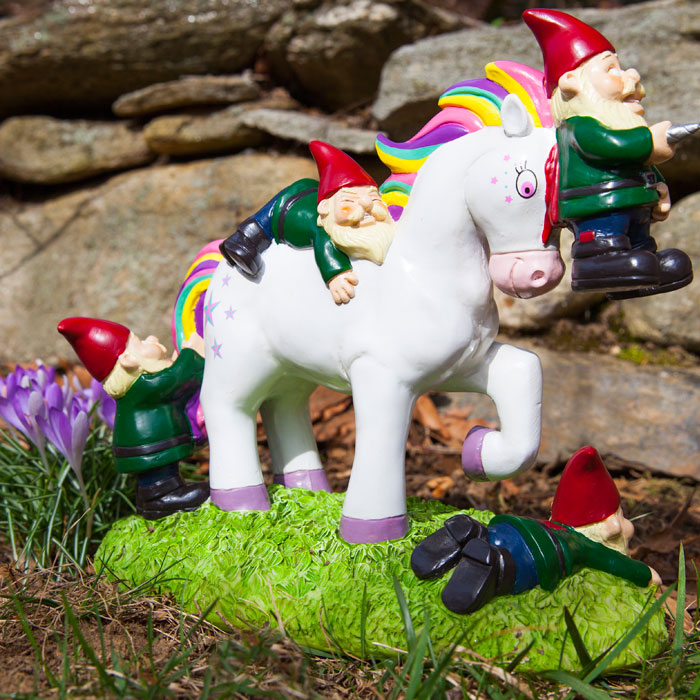 The Unicorn Garden Gnome Massacre