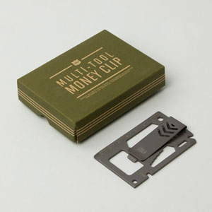 Multitool Money Clip