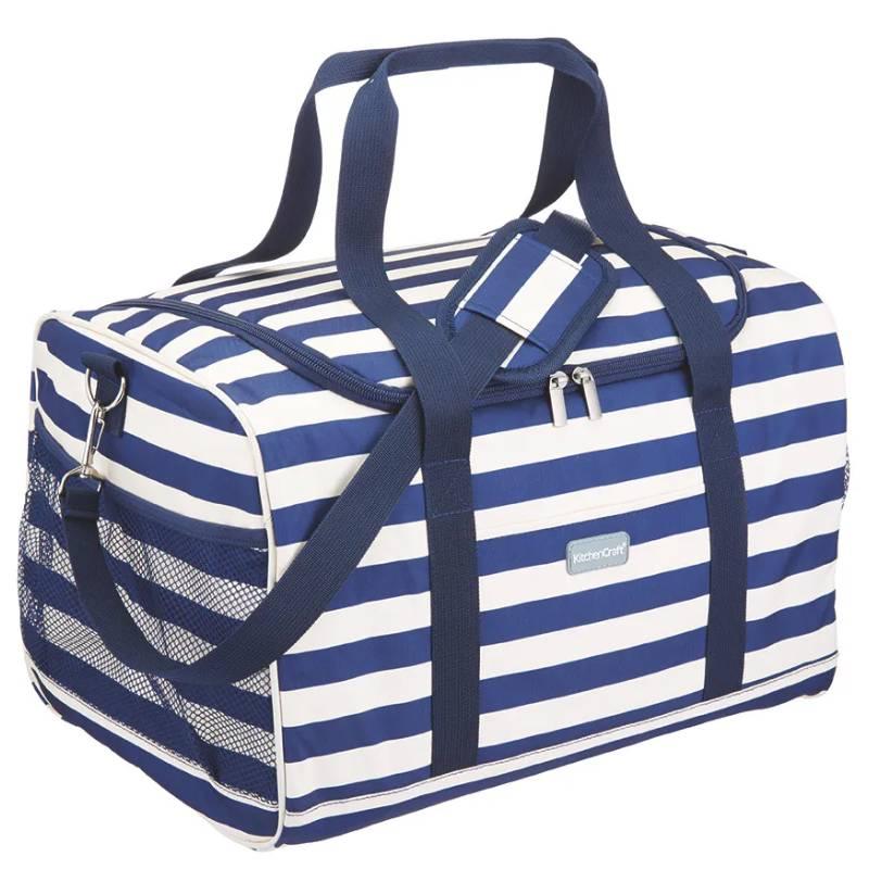 Nautical-Striped Family Cool Bag