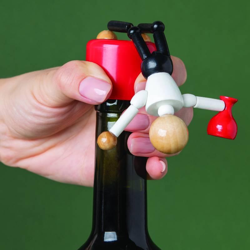 Wasted Bottle Stopper