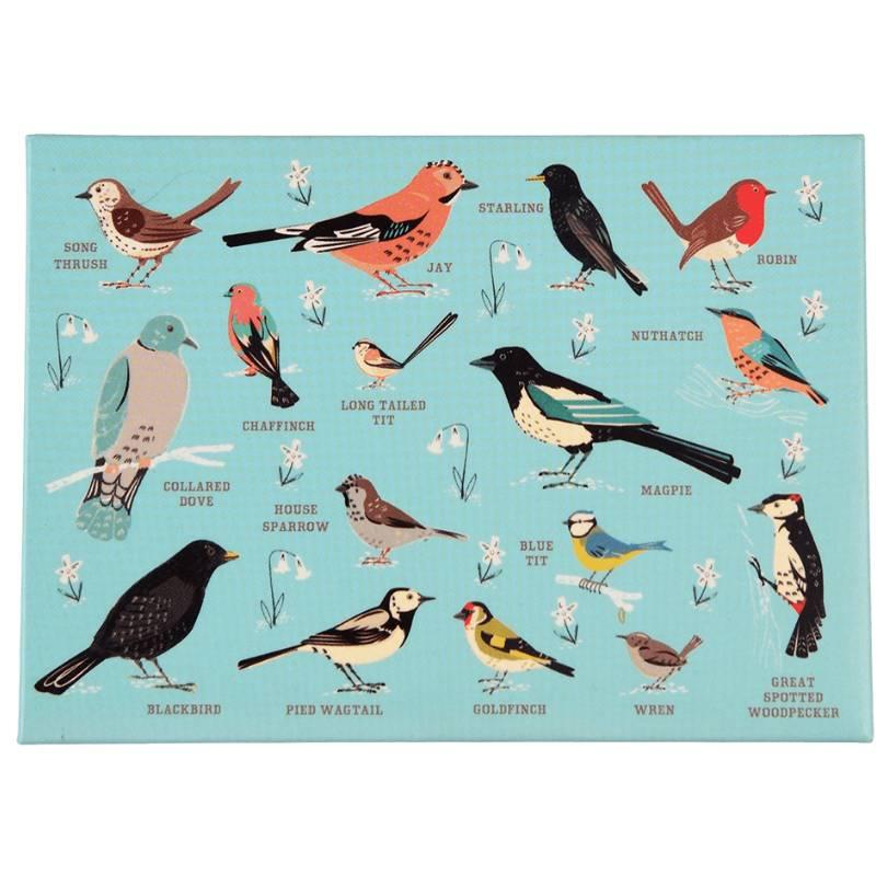 Garden Birds Fridge Magnet