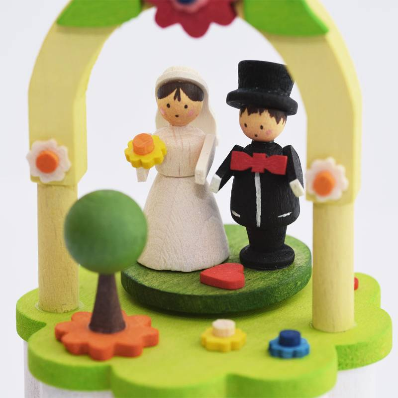 Music Box Bride and Groom