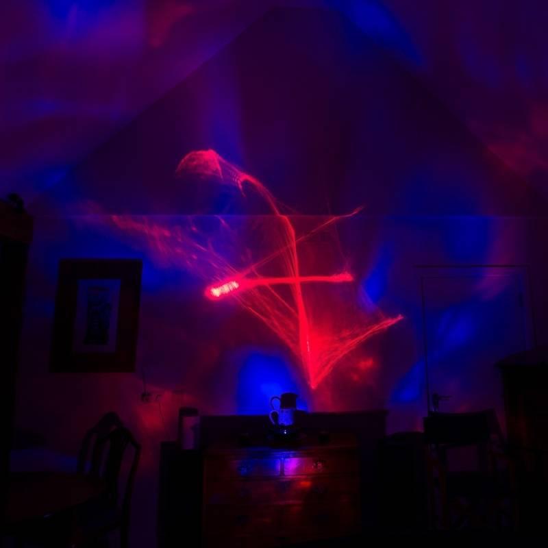 Laser-Kugel-Projektor