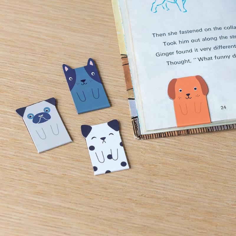Magnetic Dog Bookmarks