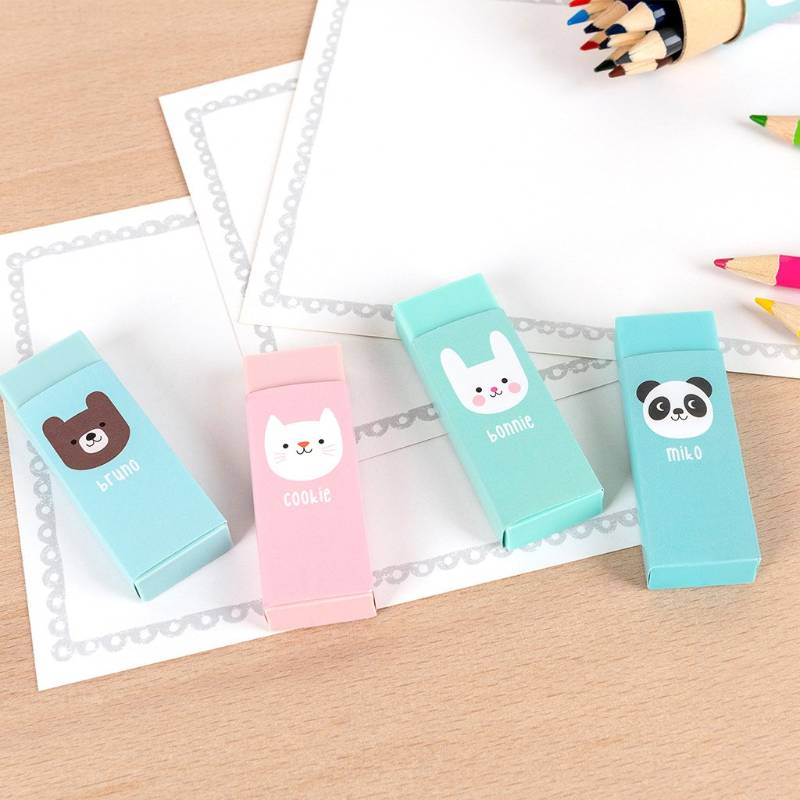 Miko And Friends Erasers