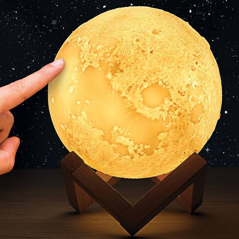 Colour-Changing Moon Lamp