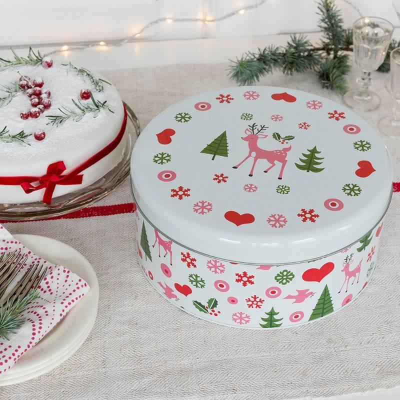 Christmas Cake Tin