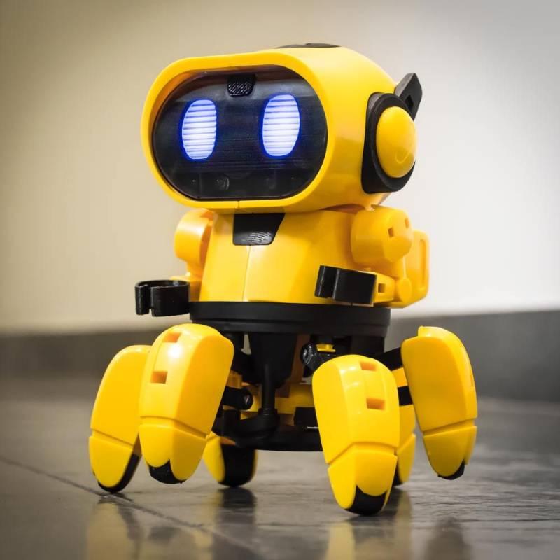 Tobbie the Self-Guiding AI Robot